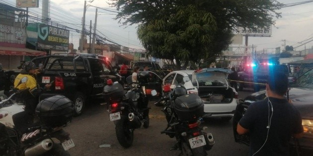 Security in Jalisco: They shoot at state police in Tonalá and end up in detention