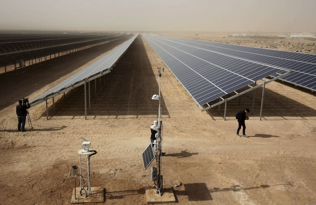 Solar panels that heat the weather, can it be?  |  Science |  News |  Sun