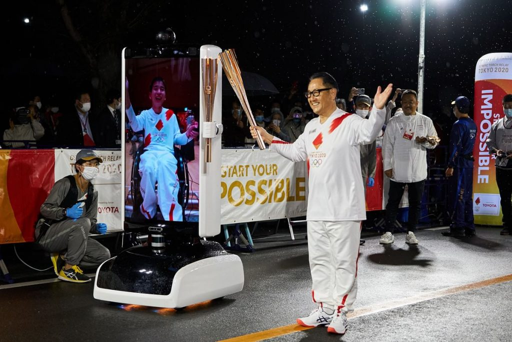Toyota unloads the Olympic Games in Japan