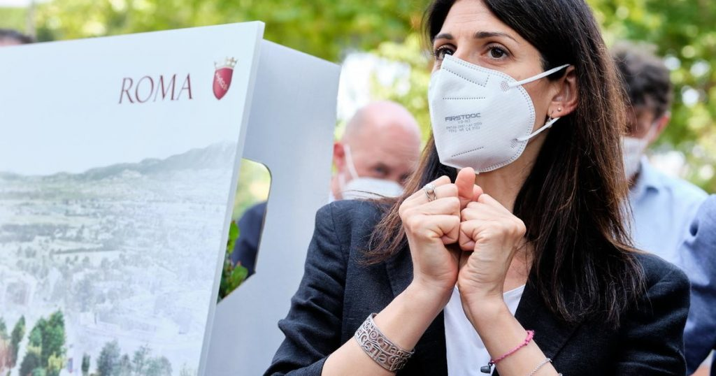 Virginia Raggi breaks up with President Zingaretti and throws Rome's garbage - Il Tempo - in Albano