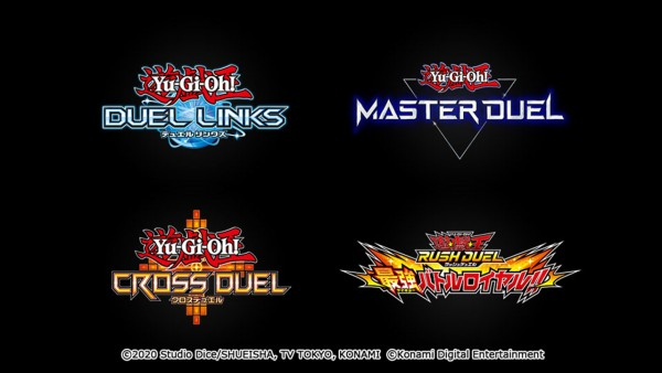 Yu-Gi-Oh!  : Konami announces three new games for PC, console and mobile