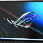 """The 16-inch screen with an ultra-narrow bezel enhances the feeling of immersion in the game.  Gaming PC Review """"ROG Zephyrus M16 GU603"""" – GIGAZINE"""