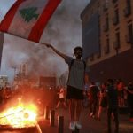 A massive demonstration in Beirut … and clashes between security and protesters