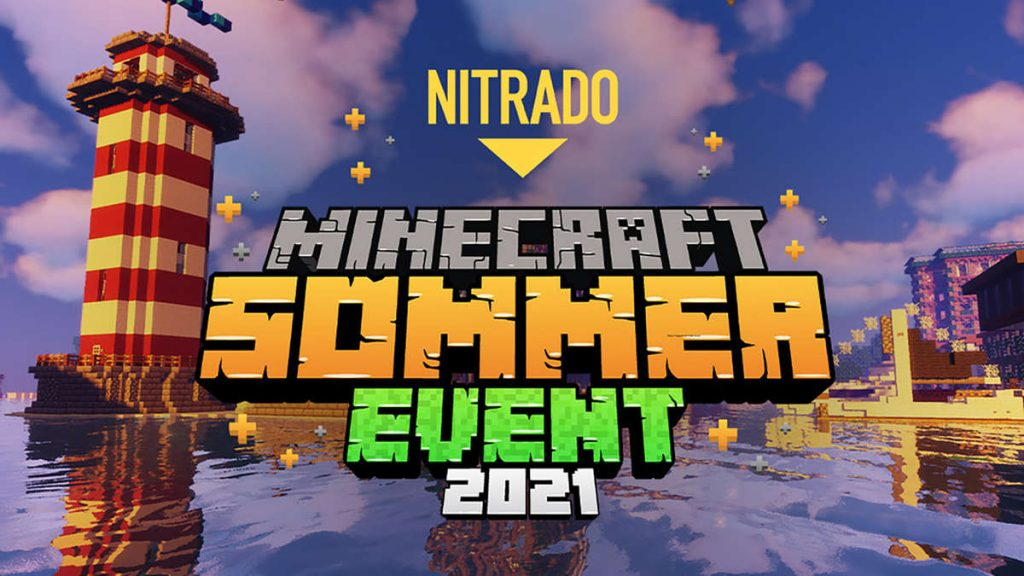 Nitrado Minecraft Summer Event 2021 - Win Great Prizes As You Play