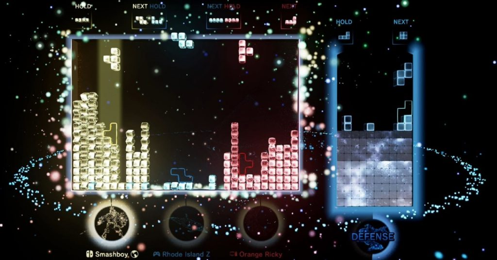 """""""Tetris Effect: Connected"""" will land on the Switch platform in October to support cross-platform cooperation / multiplayer connection battle """"Tetris Effect: Connected"""""""
