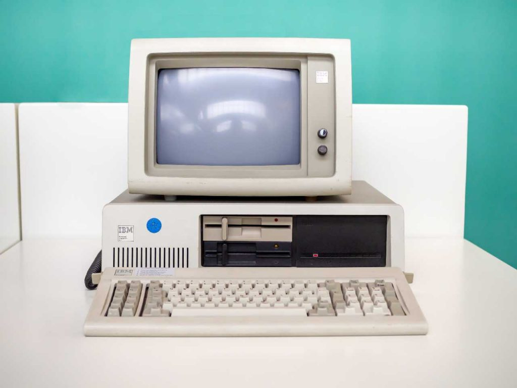 40 years ago the first IBM PC was presented, that's how it was and what it knew how to do