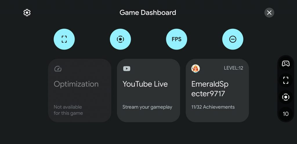 Game Dashboard and game widgets will come to Google Play Games with Android 12 (photo)