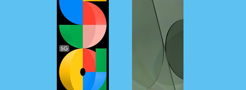 Google Pixel 5a Stock Wallpapers