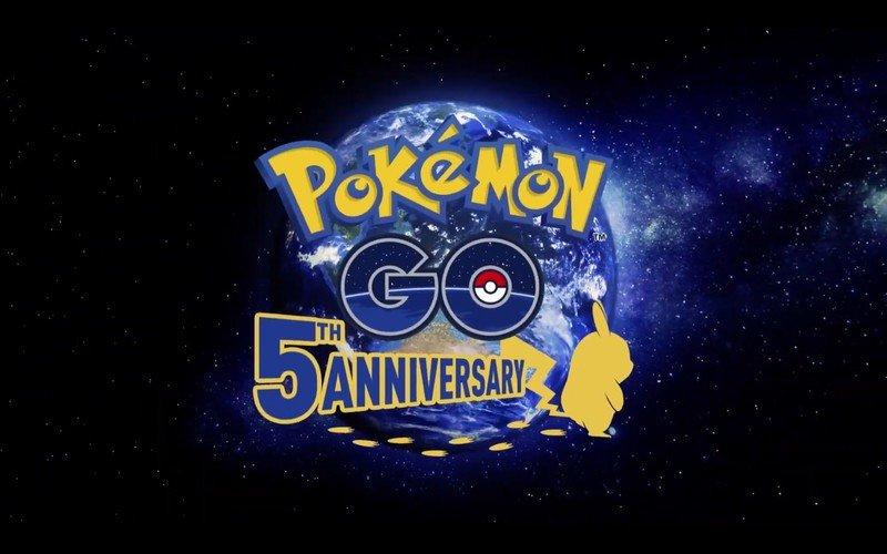 Pokemon Go 5 years