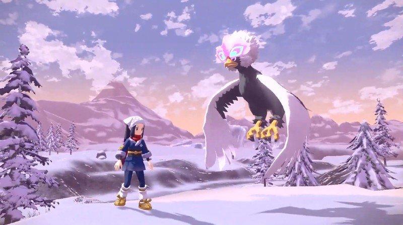 Pokémon Legends Arceus Braviary