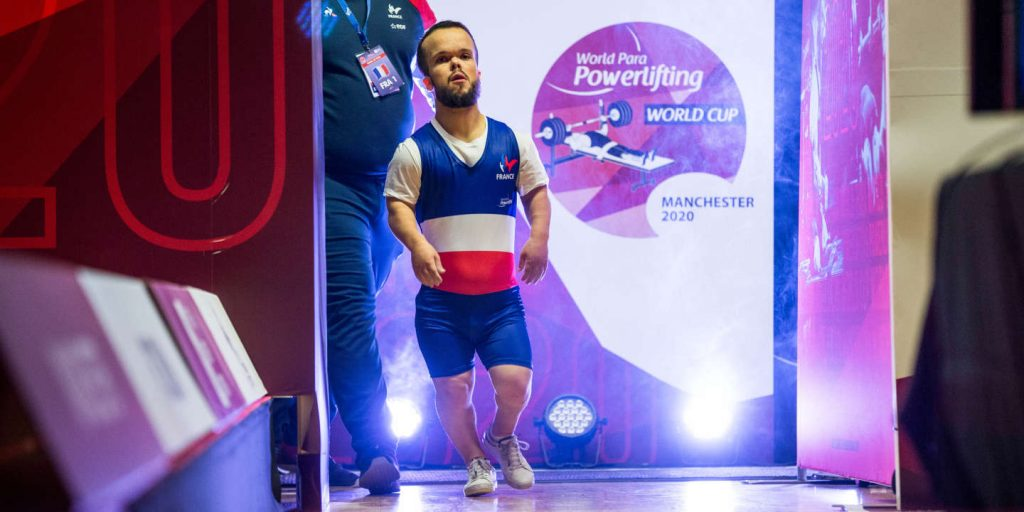 Axel Bourlon, the hope of weightlifting