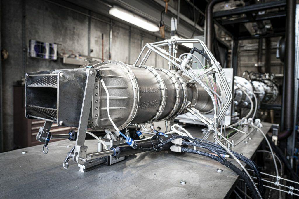 Hermeus Quaterhorse Engine