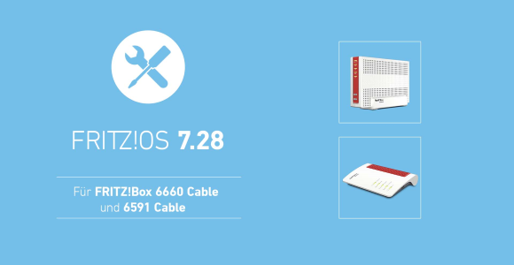 AVM launches FRITZ!  OS 7.28 for FRITZ!  Box 6591 Cable with error correction
