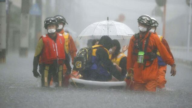 At least four people missing: several dead after extremely heavy rains in Japan - Society