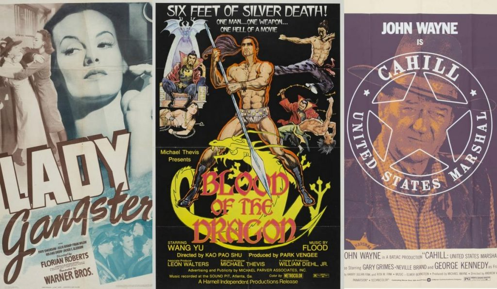 Download 10,000 free historical movie posters in cinema format, up to 3 x 6 meters
