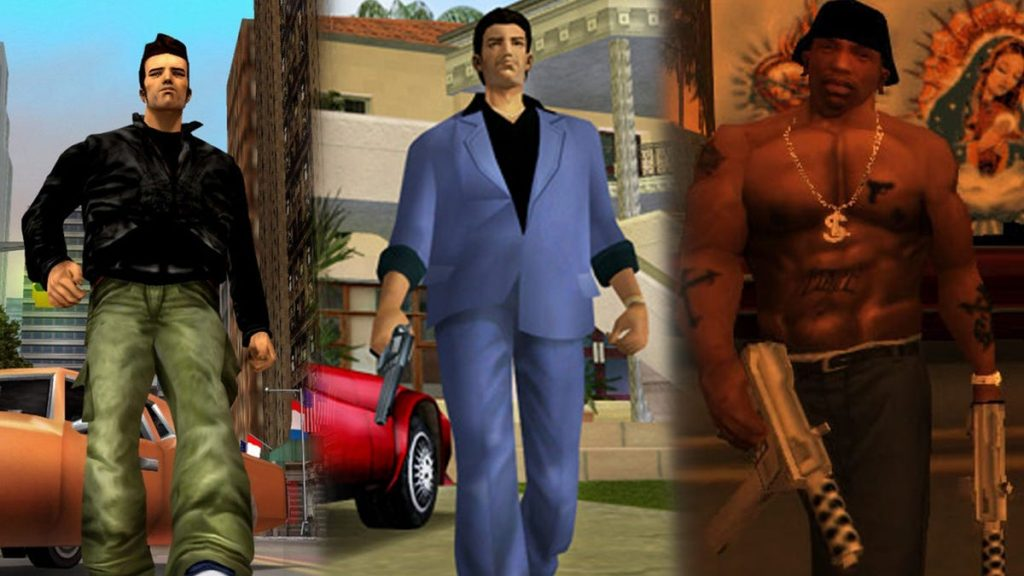 GTA 3, Vice City and San Andreas remastered for Switch, PS5 and Xbox