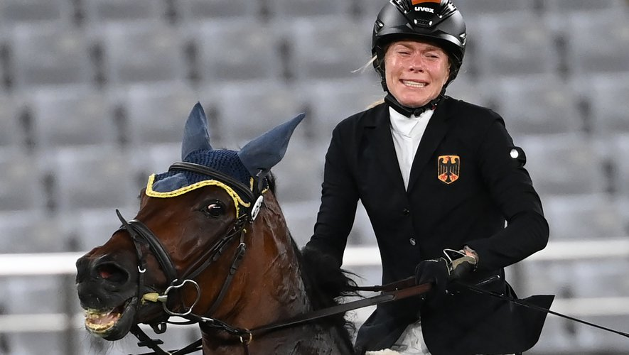 His horse refused to jump, Olympics athlete subject to abuse complaint