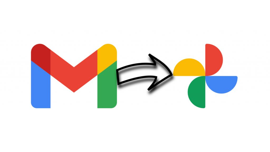 How to save photos received by email in Google Photos?