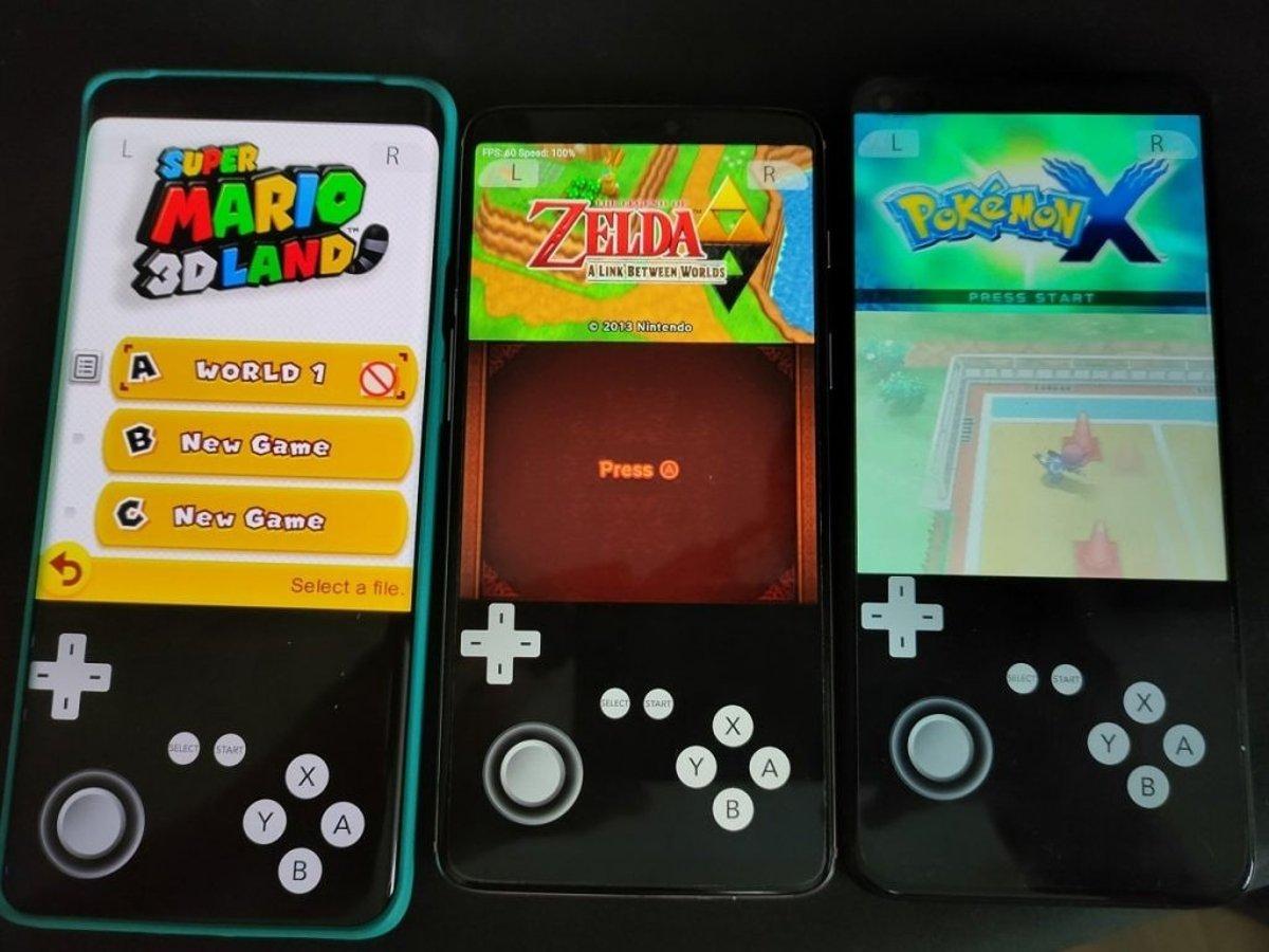 Android Nintendo 3DS Emulator