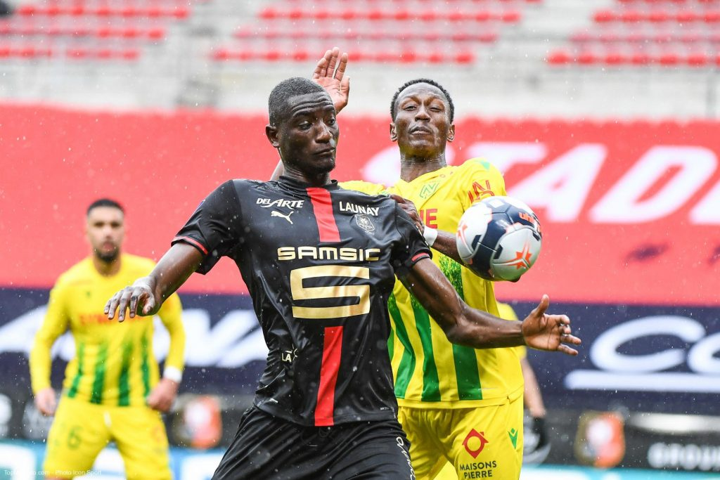 Sehrou GUIRASSY, match Rennes - FC Nantes