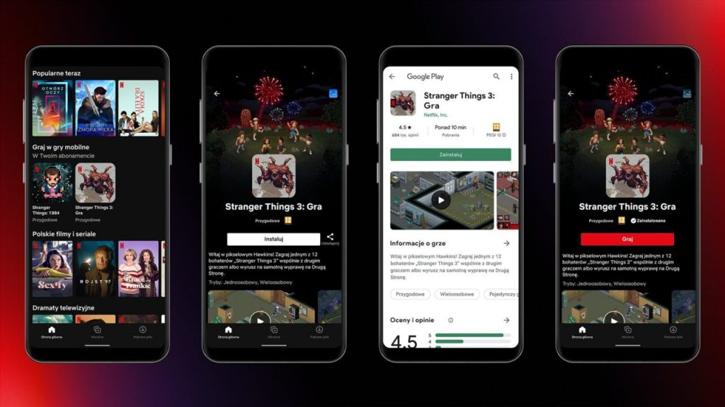 Netflix has started testing video games on Android starting with Stranger Things