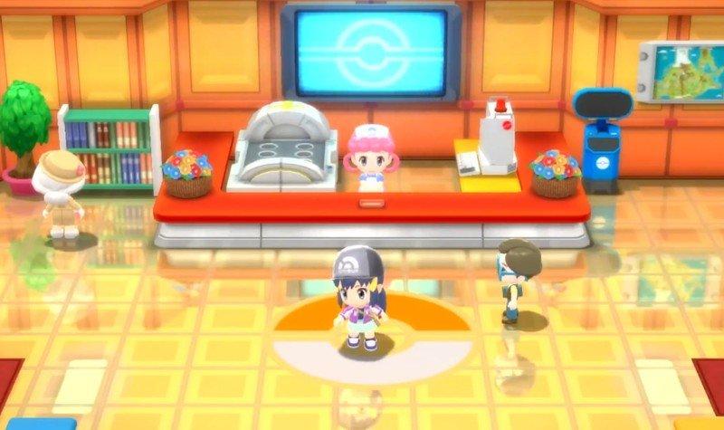 Pokemon Bdsp Pokemon Center
