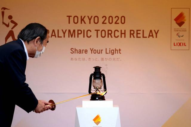 There are no traditional torch relays for the Tokyo Paralympic Games, probably behind closed doors