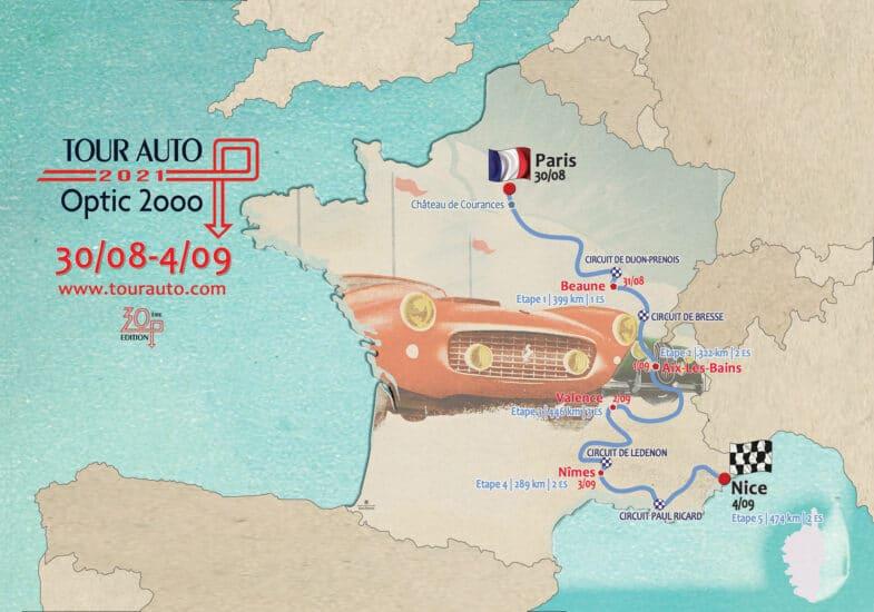 Auto Tour Route 2021