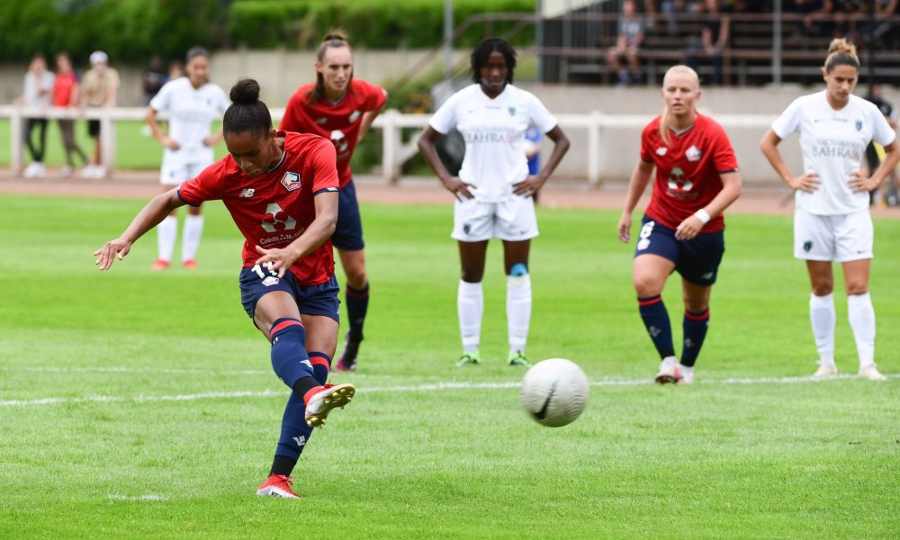 Women: LOSC equals Paris FC in friendly