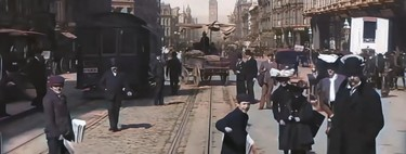 One of the most spectacular applications of AI in all its glory: this is how videos over 100 years old look like recorded now