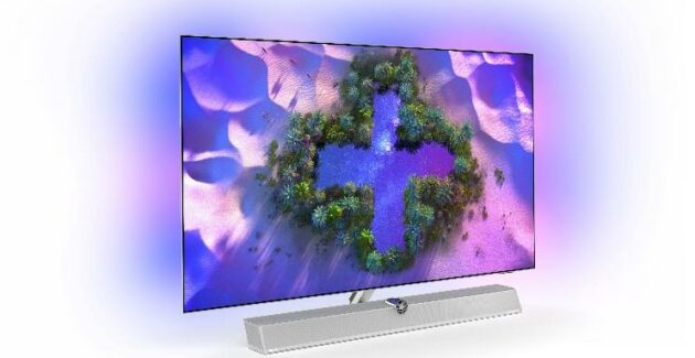 Philips OLED + 986 and OLED + 936: Premium TVs made in collaboration with Bowers & Wilkins: Gadget.ro - High-Tech Lifestyle