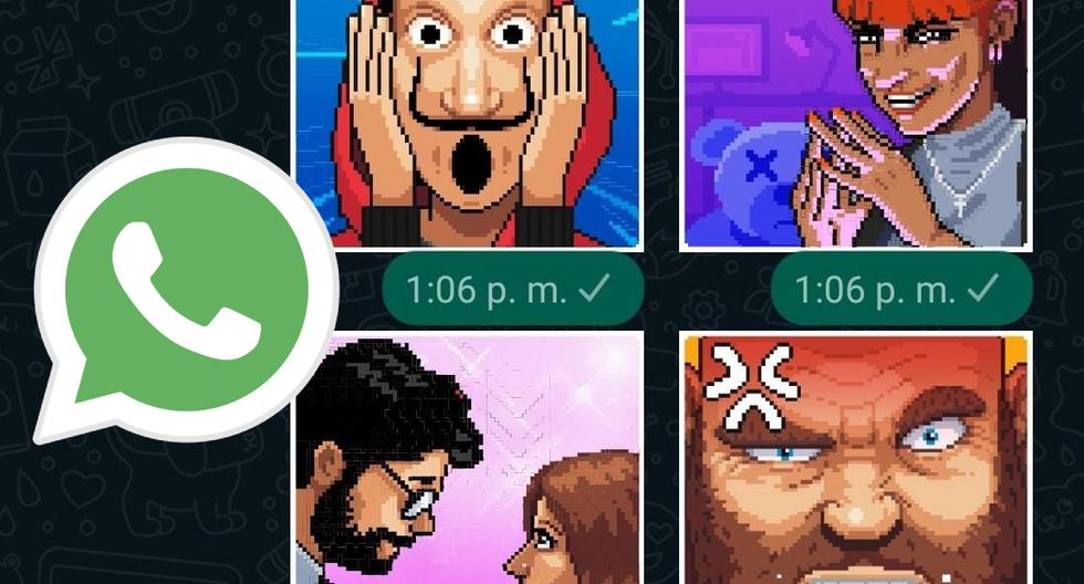WhatsApp: The steps to get the stickers of 'La casa de papel 5' |  SPORTS-PLAY
