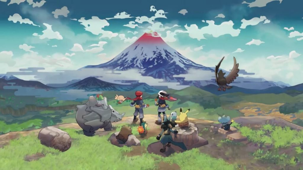 Breaking the news suggests that Pokémon Legend: Arceus will be the hardest job in the #nintendo switch series (165031) -Cool3c