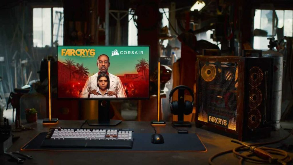 Corsair Partners with Ubisoft for an Immersive Experience of Far Cry 6, an AMD-Powered PC Giveaway