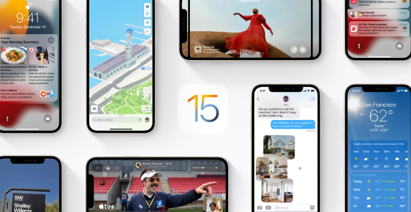So iOS 15 and iPadOS 15 can be downloaded manually