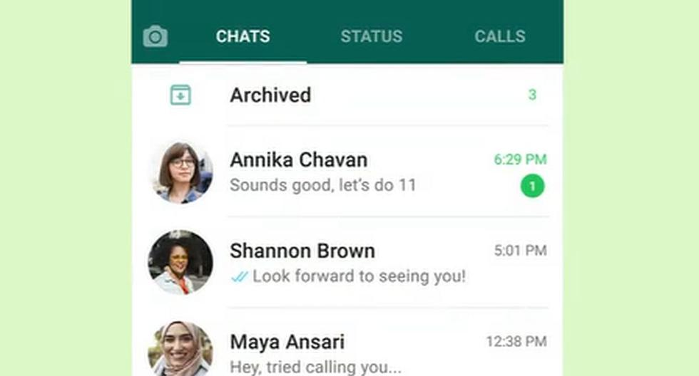 WhatsApp    The Trick to Remove the Archives Folder    Android    Apple    iOS    iPhone    Technology    Applications    nnda    nnni    SPORTS-PLAY
