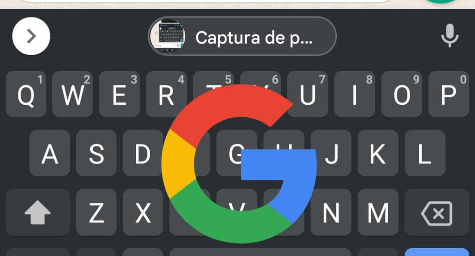 Gboard    The trick to sending a one-touch 'screenshot'    Android    Apple    iOS    iPhone    Technology    Applications    nnda    nnni    SPORTS-PLAY
