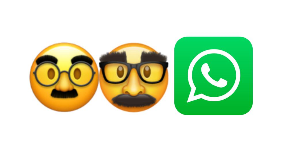 WhatsApp |  knows the meaning of the curious emoji of the face with big eyebrows, glasses and mustaches |  SPORTS-PLAY