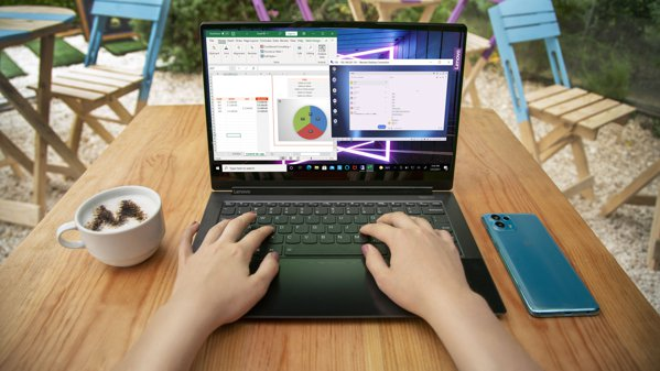 (P) Technology-supported business environment.  Motorola partners are testing Ready For PC and ThinkShiled for mobile devices, the tools for the new work system