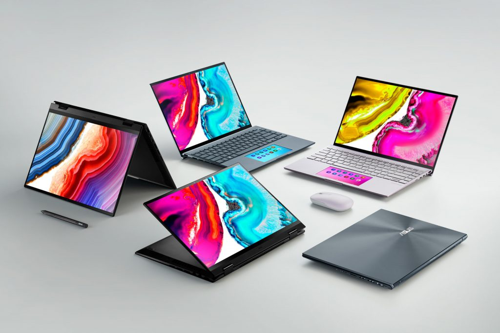ASUS has implemented OLED displays in all laptop categories