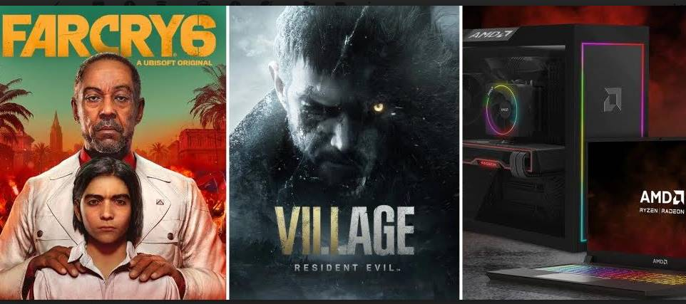 Buy AMD Ryzen with AMD Radeon, Get Far Cry 6 and Resident Evil Village for Free