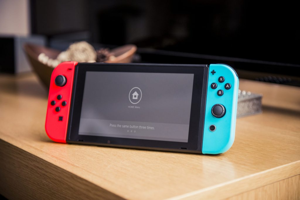 Connect the Bluetooth headset to the Nintendo Switch