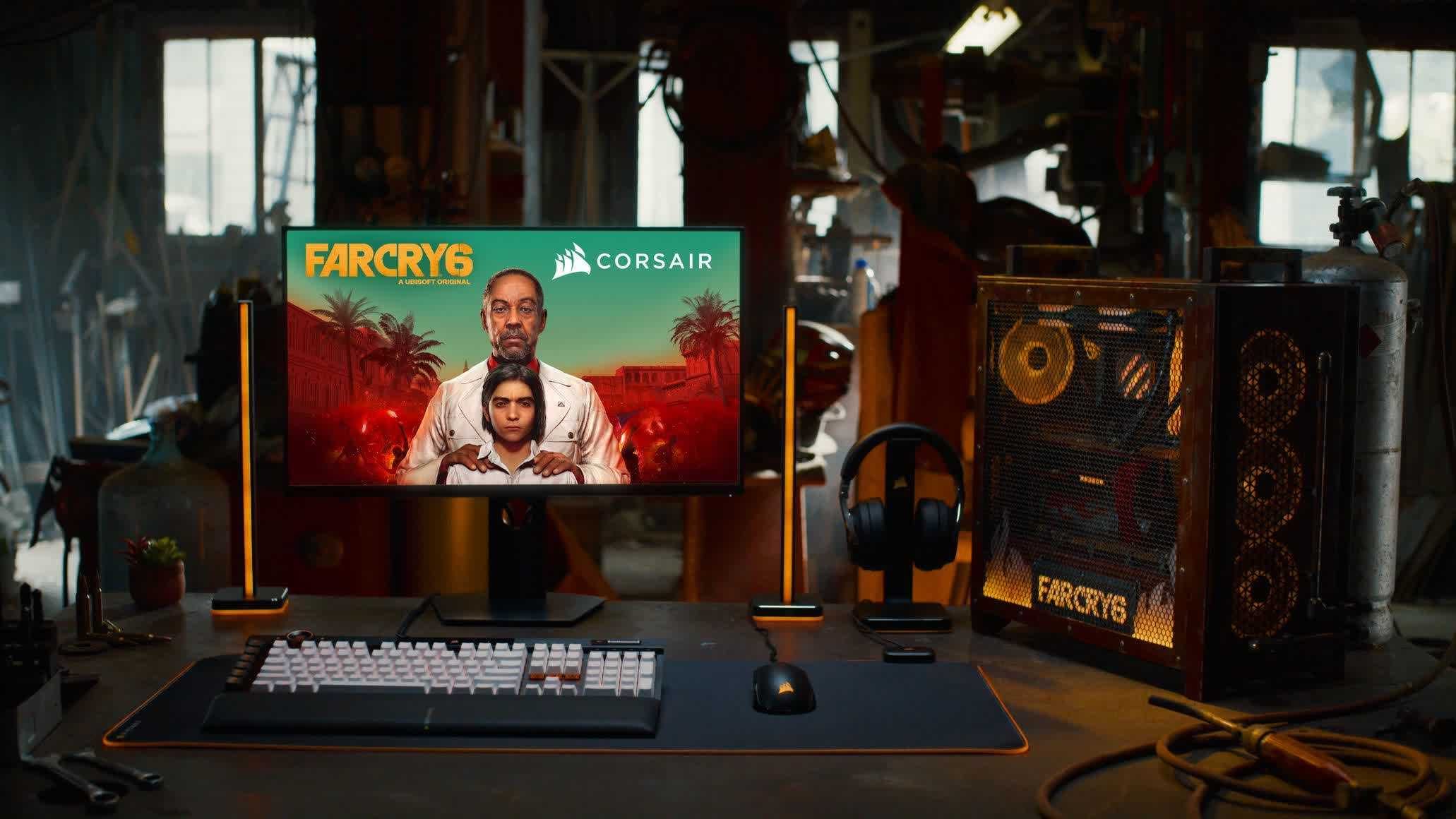 Corsair Partners with Ubisoft for an Immersive Far Cry Experience