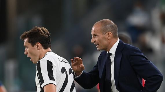 Juve, Allegri scarica la pressione sul Milan e cerca la prima vittoria. Occhio alla variabile Chiesa