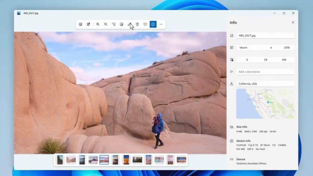 Microsoft shows new Windows 11 Photos app