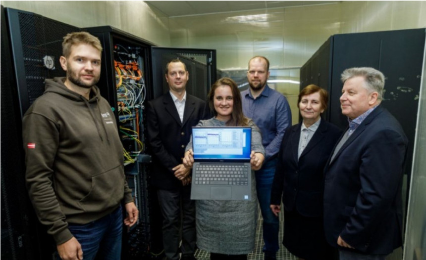 Quantum technologies are being developed in Latvia for a more secure flow of information