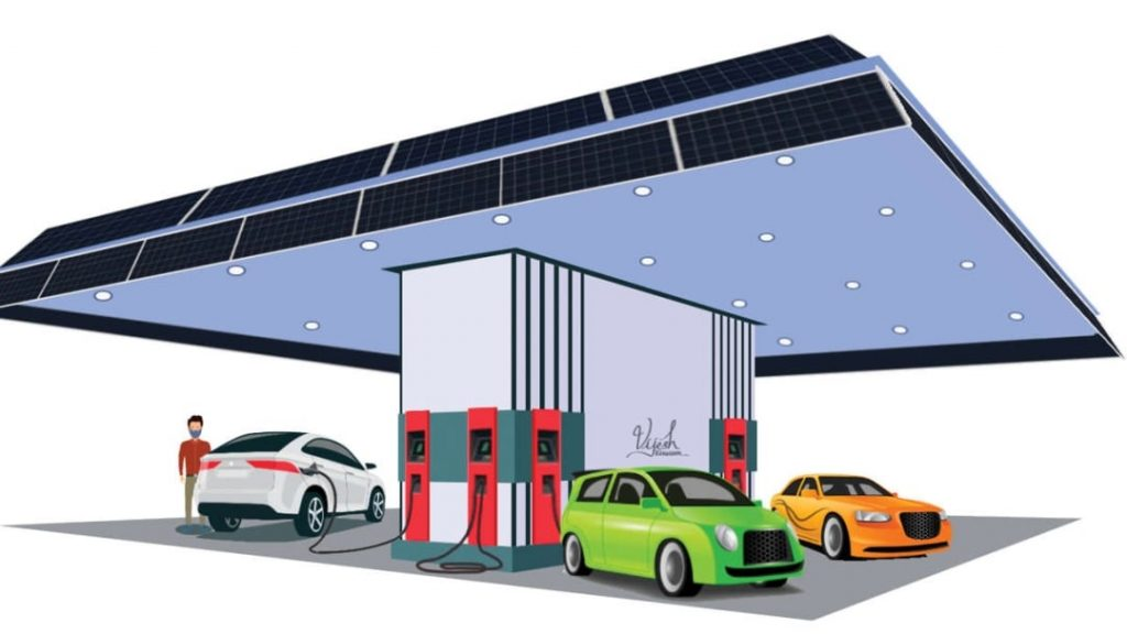 Ready to start your electric vehicle charging station?  Grant guarantee up to Rs 10 lakh    Solar Electric Vehicle Charging Stations