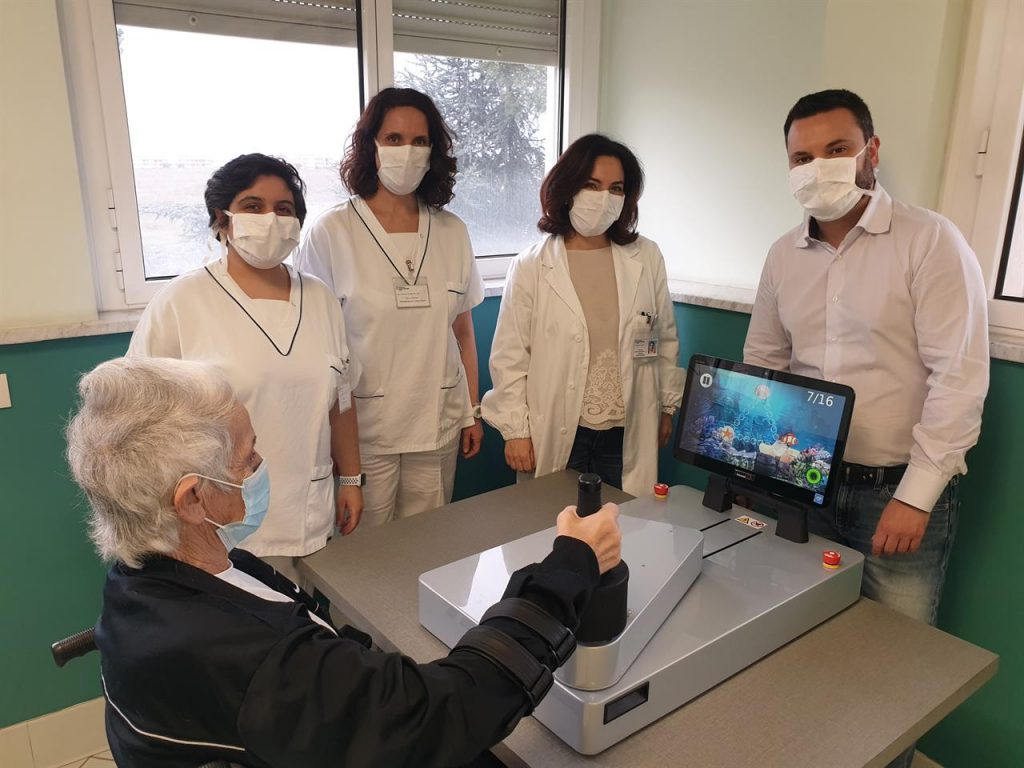 The rehabilitation robot that comes home and exceeds the limits of the pandemic (09/13/2021)