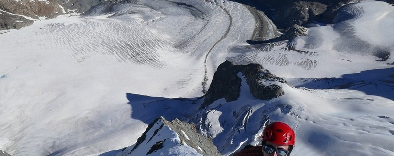 The two mountaineers who died in the Pala Pizzo A volley of stones, with no escape