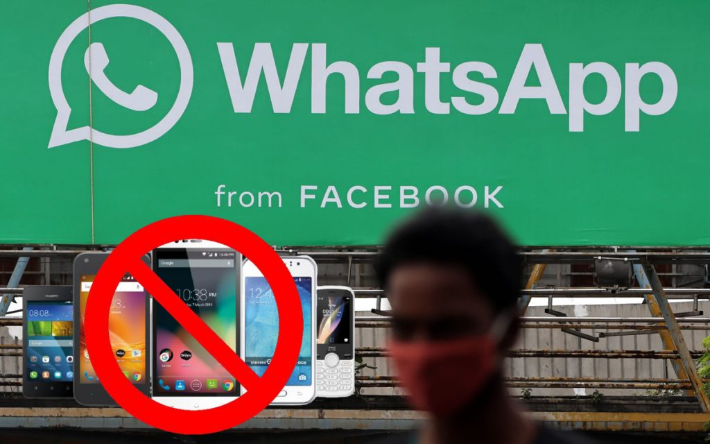 WhatsApp will NOT work on these phones from November 1